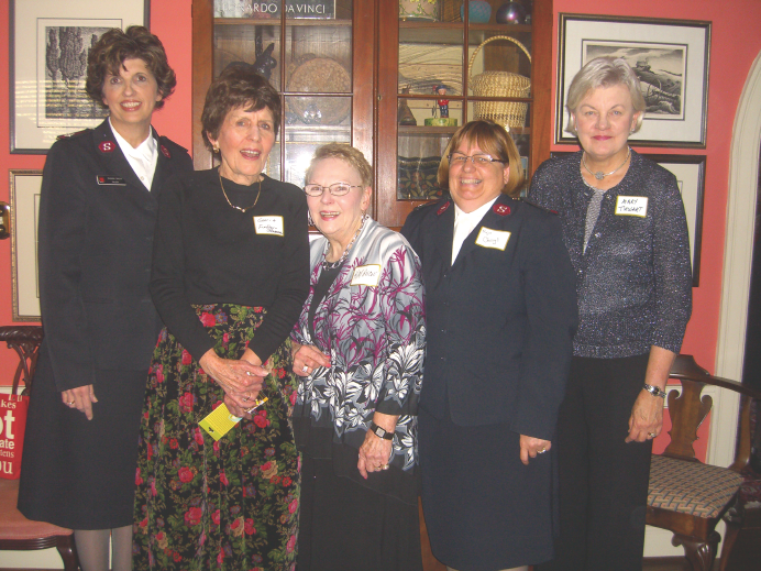 Salvation Army Women's Auxiliary – Annual Tea