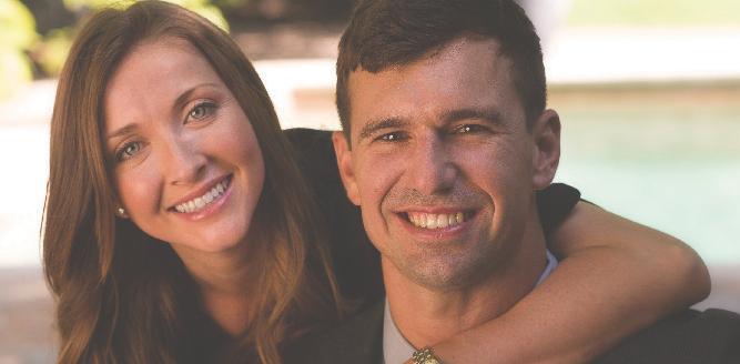 Congratulations, Monica & David!