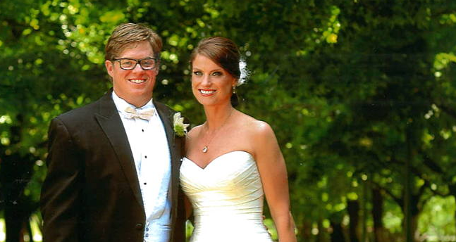 Congratulations Mr. and Mrs. Anderson!