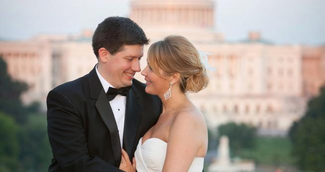 Congratulations Mr. and Mrs. Raab!