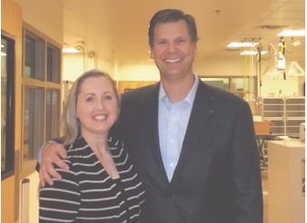 Cheers to Volunteers! – Jennifer and Chuck Laue