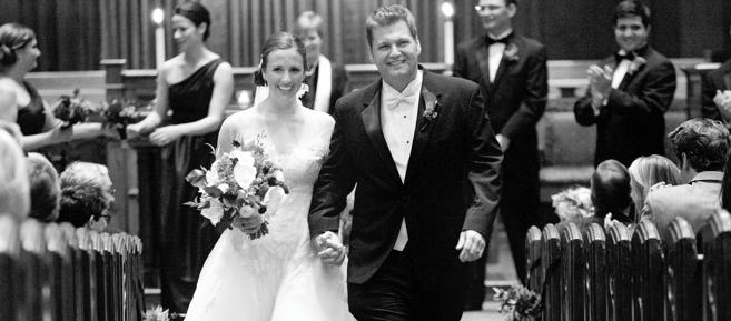 Congratulations Mr. and Mrs. Schieber!