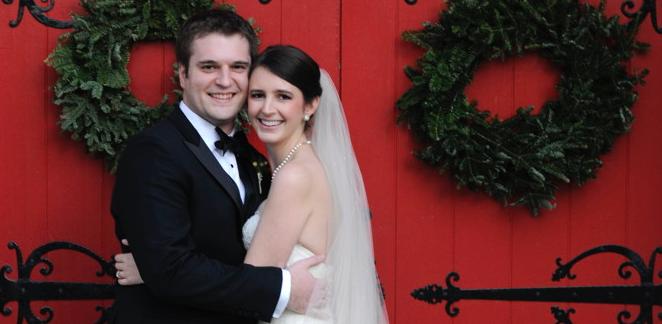 Congratulations, Mr. and Mrs. Schwalbach!