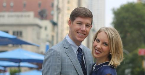 Congratulations, Katherine and Adam!