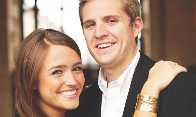 Congratulations, Elisabeth and James!