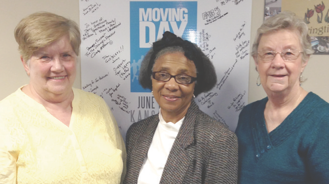 Cheers to Volunteers! – Dorothy Claussen & Ernestine White