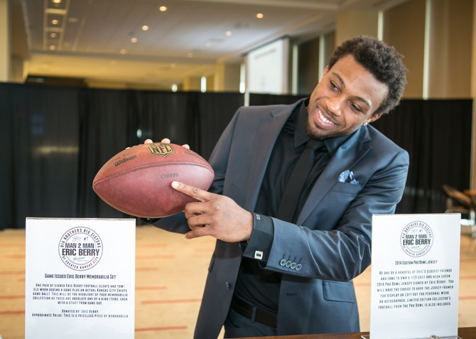 Big Brothers Big Sisters of Greater Kansas City – Man 2 Man with Eric Berry