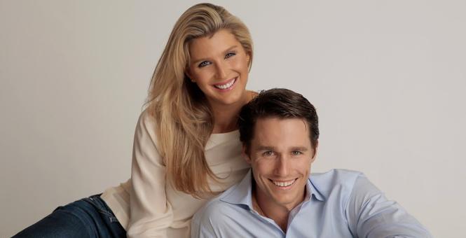 Congratulations, Caroline & Wiley!