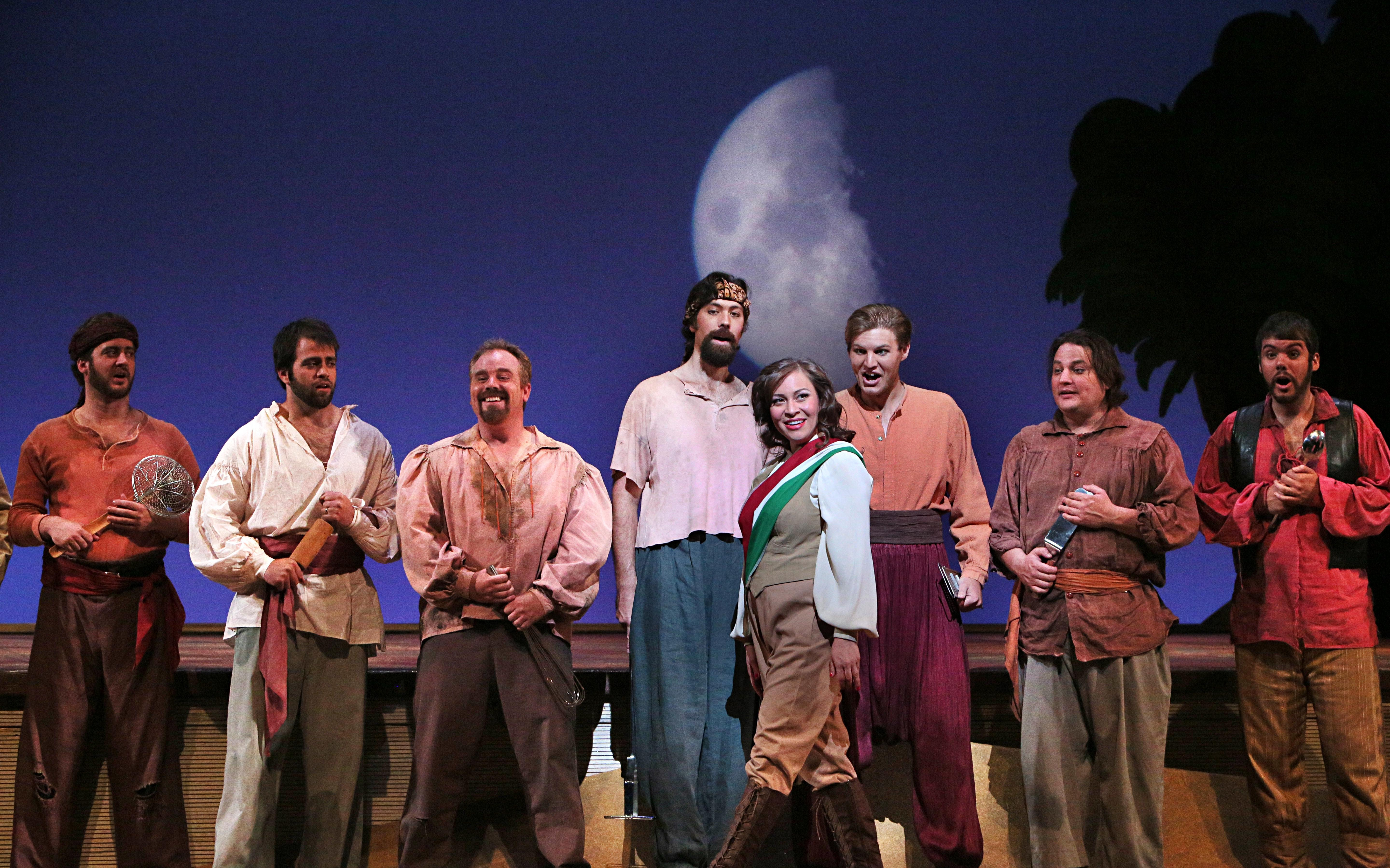 NO HAREM APPARENT: Lyric production brings out musical treasures in zany Rossini comedy