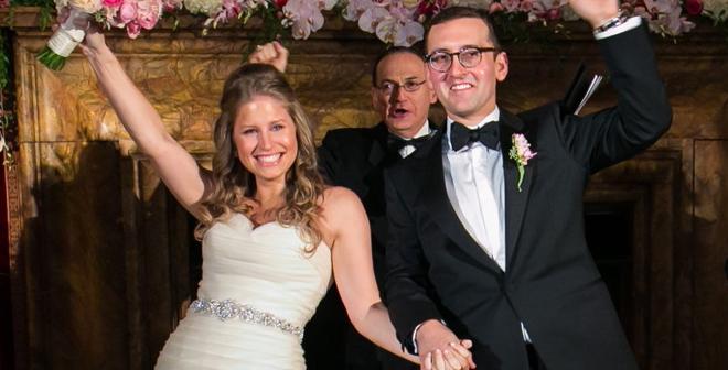 Congratulations, Mr. & Mrs. Roman!
