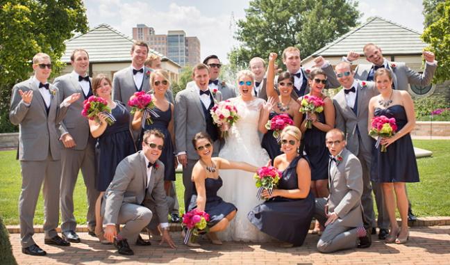 Congratulations, Mr. & Mrs. Rapp!