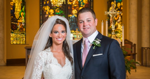 Congratulations, Mr. & Mrs. Anderson!