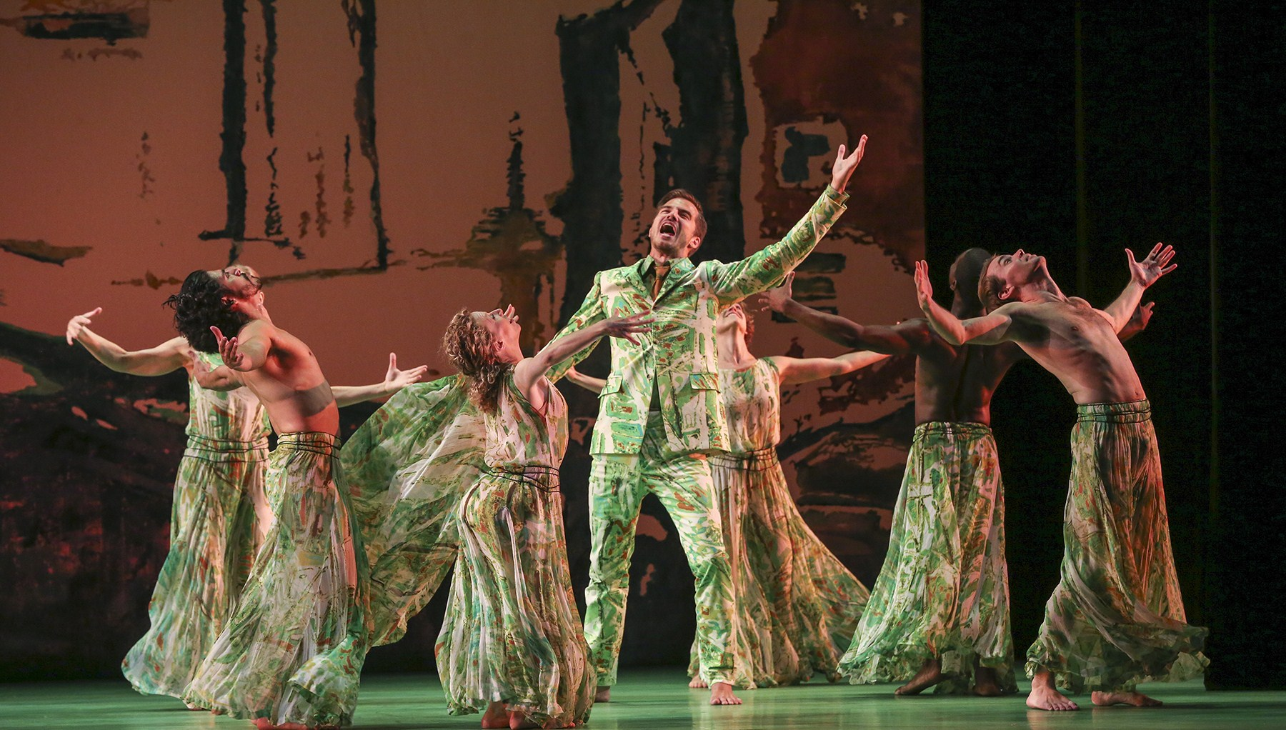 COME, THOU FOUNT: Choreographer and star team create dazzling new vision of Handel