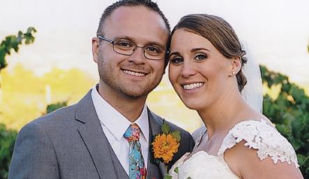 Congratulations, Mr. & Mrs. Donais, Jr.!