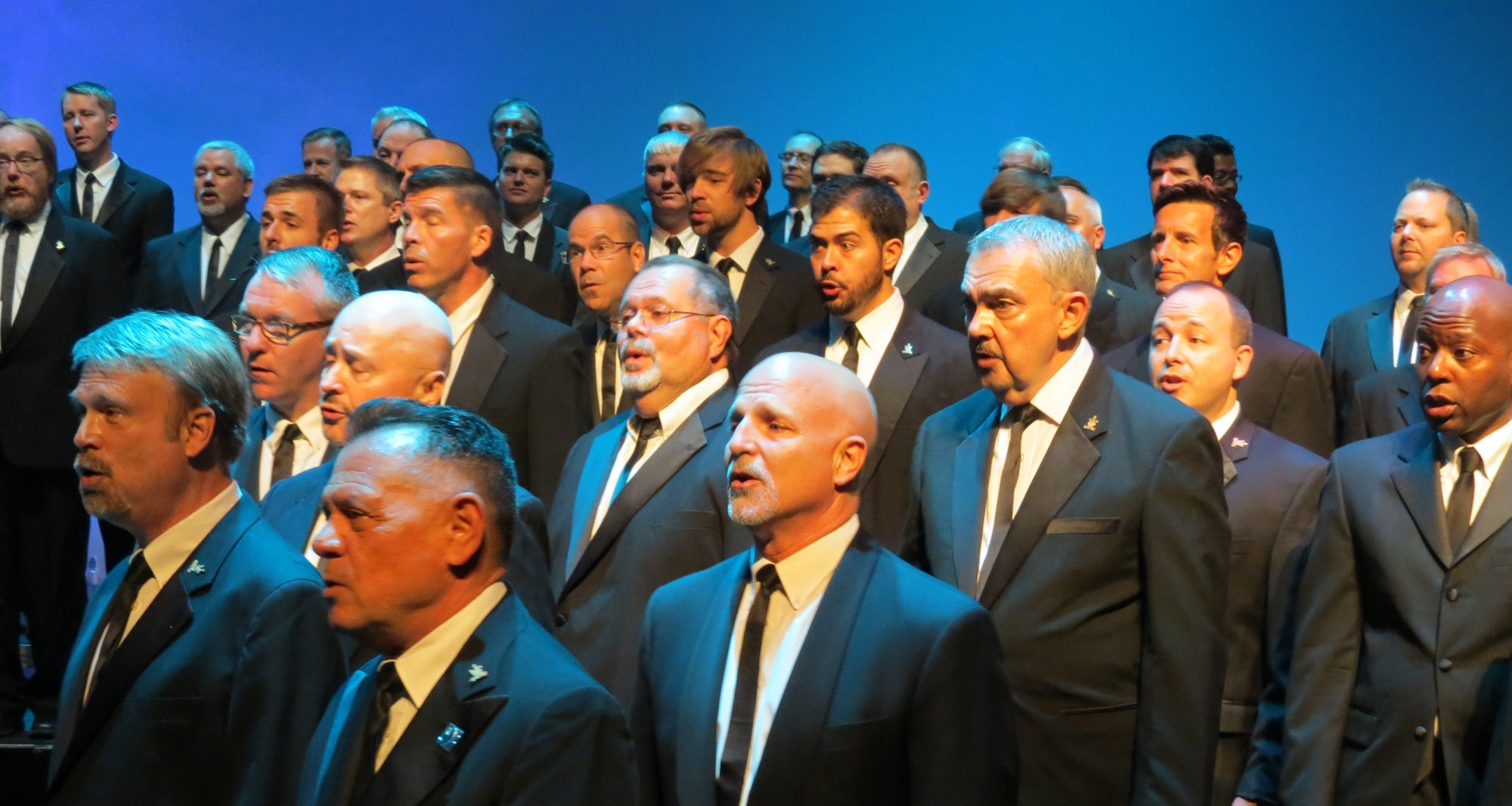 ARE WE THERE YET? Men's choir takes on new challenges in a rapidly changing world