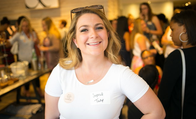 Cheers to Volunteers! – Sophie Tulp
