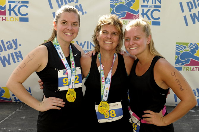 WIN for KC Triathlon