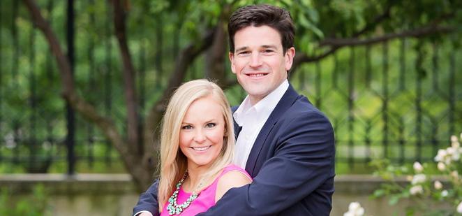 Congratulations, Frances & Andrew!