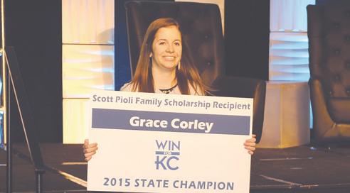 Scott Pioli Family Scholarship – Grace Corley