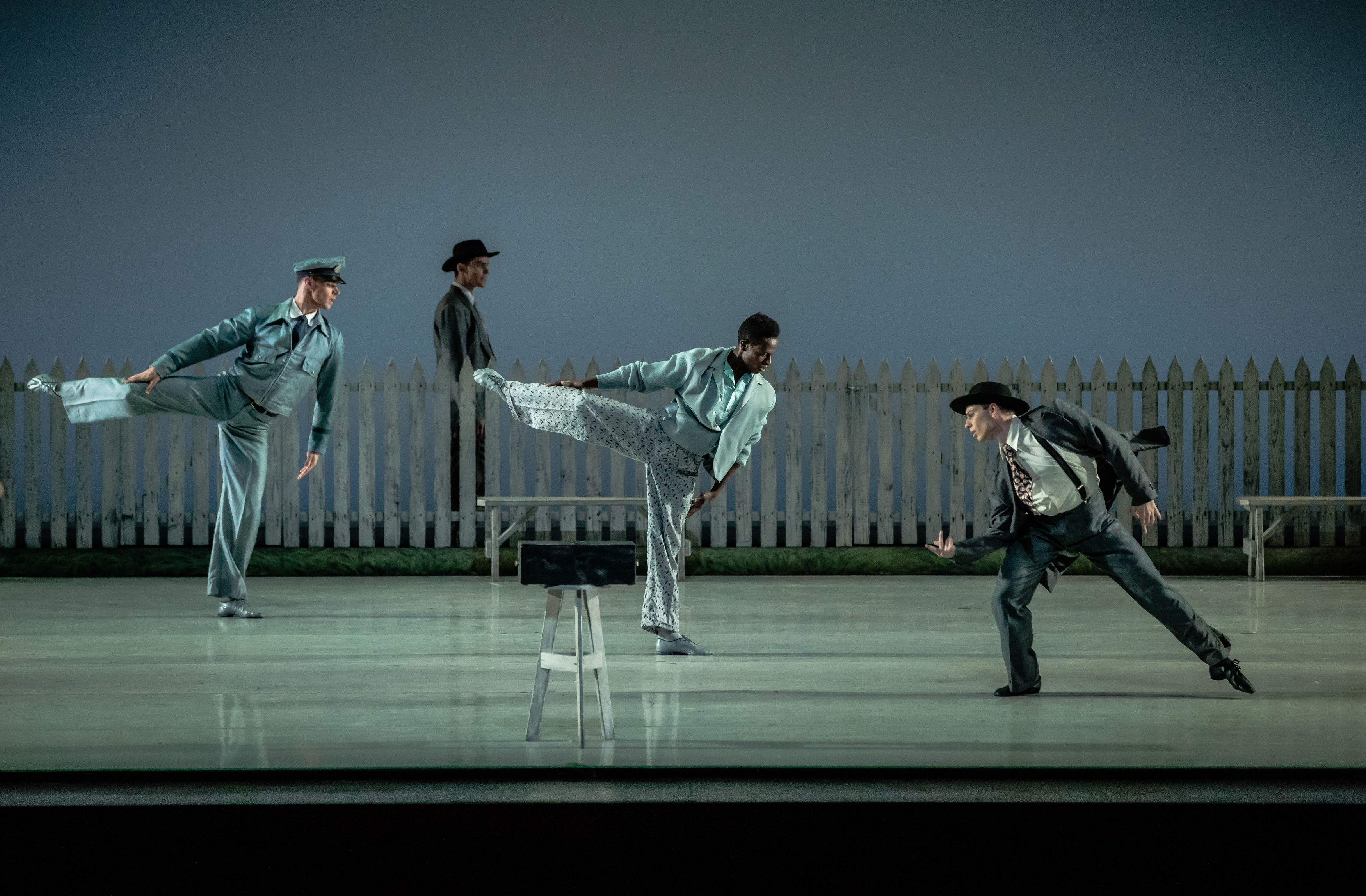 IT'S ALL THERE FOR THOSE WHO SEE: KCB program shows breadth of American dance (REVIEW)