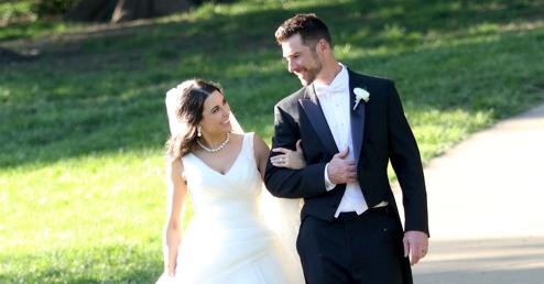 Congratulations, Mr. & Mrs. Thompson!