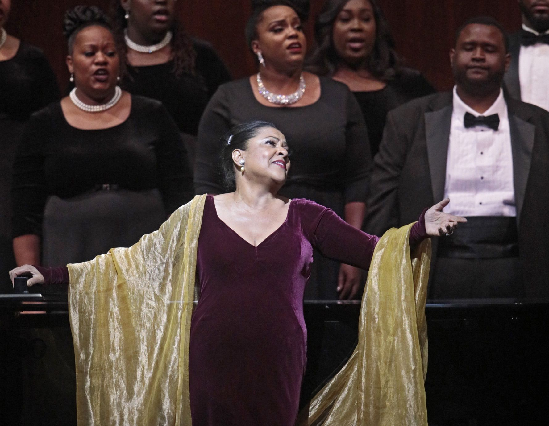CLASSY COMEBACK: Storied soprano returns, in glorious voice, with powerful message