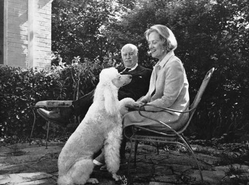 Sally Sheffield Ingalls and Edward Keith