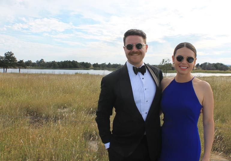 Congratulations, Paige & Randy!