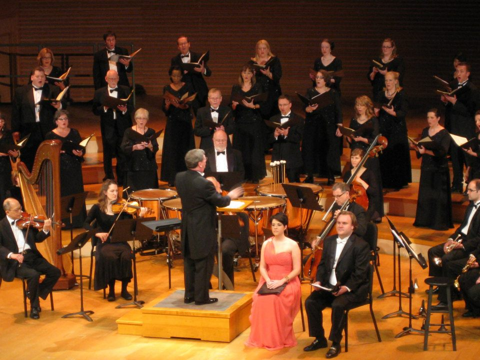 CHORAL COMMITMENT: Festival Singers of KC marks 20 years of great music