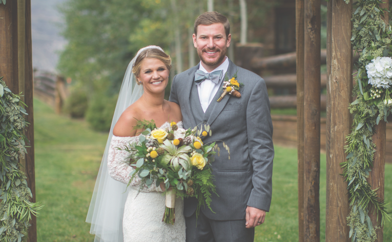 Congratulations, Mr. & Mrs. Fischer!