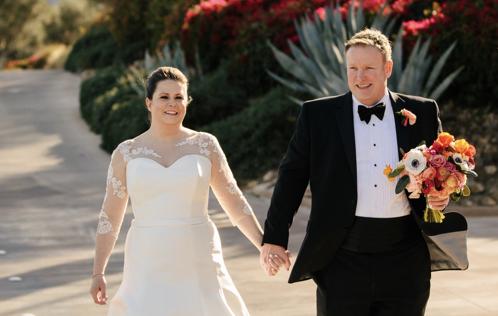 Congratulations, Mr. & Mrs. Welch, Jr.!