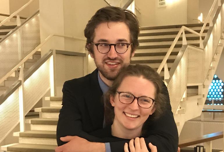 Congratulations, Molly & Nicolas!