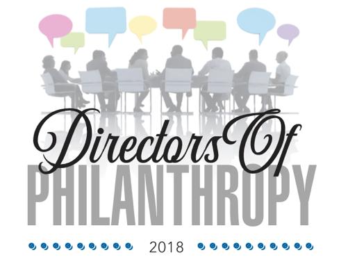 2018 Directors of Philanthropy