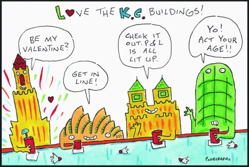 Independent-love buildings