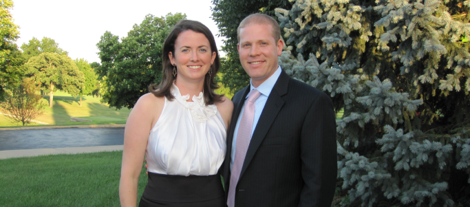 Congratulations, Catherine & Steven!