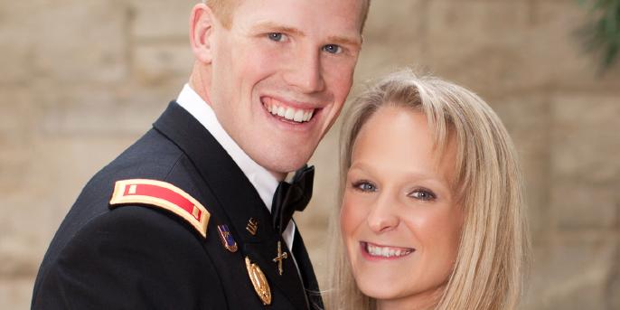 Congratulations, Julie & Lant!