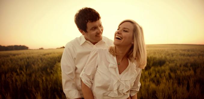 Congratulations, Sarah and John!
