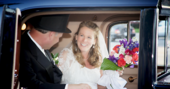 Congratulations, Mr. & Mrs. Webb!