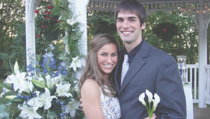 Congratulations, Elizabeth and Benjamin!