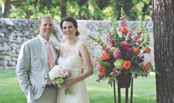 Congratulations, Mr. and Mrs. Davis!