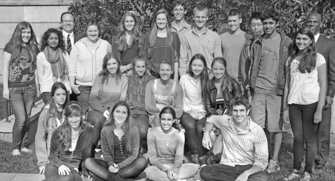 The Pembroke Hill School – 2013 National Merit Scholarship Program