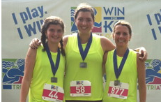WIN for KC Women's Triathlon