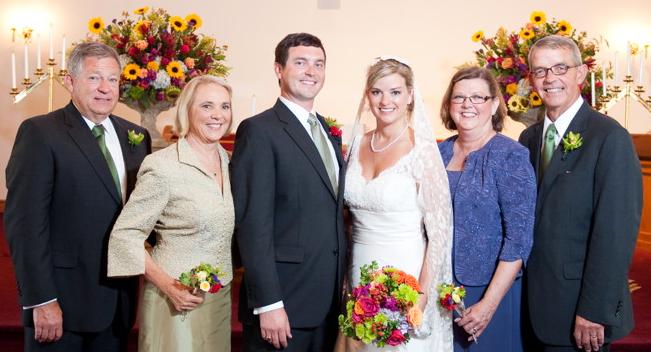 Congratulations, Mr. and Mrs. John Halcomb!