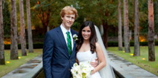 Congratulations, Mr. and Mrs. Wesley Fehsenfeld!