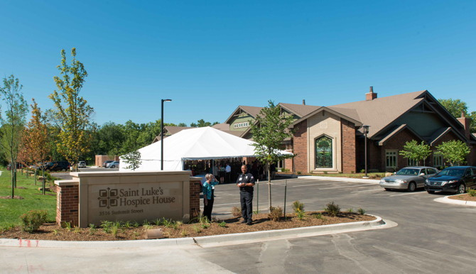 Saint Luke's Hospice House – Opening Ceremonies