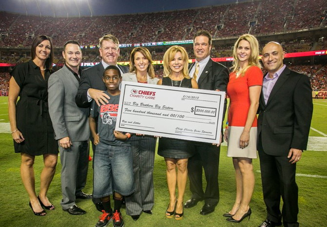 Big Brothers Big Sisters of Greater Kansas City – 2013 Chiefs Charity Game