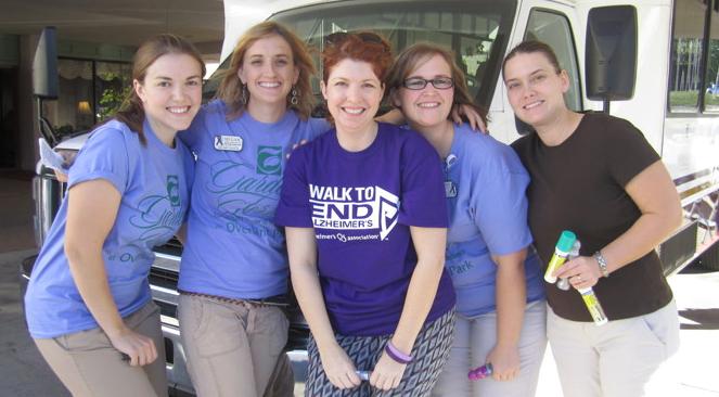 Cheers to Volunteers! – Kim Steakle