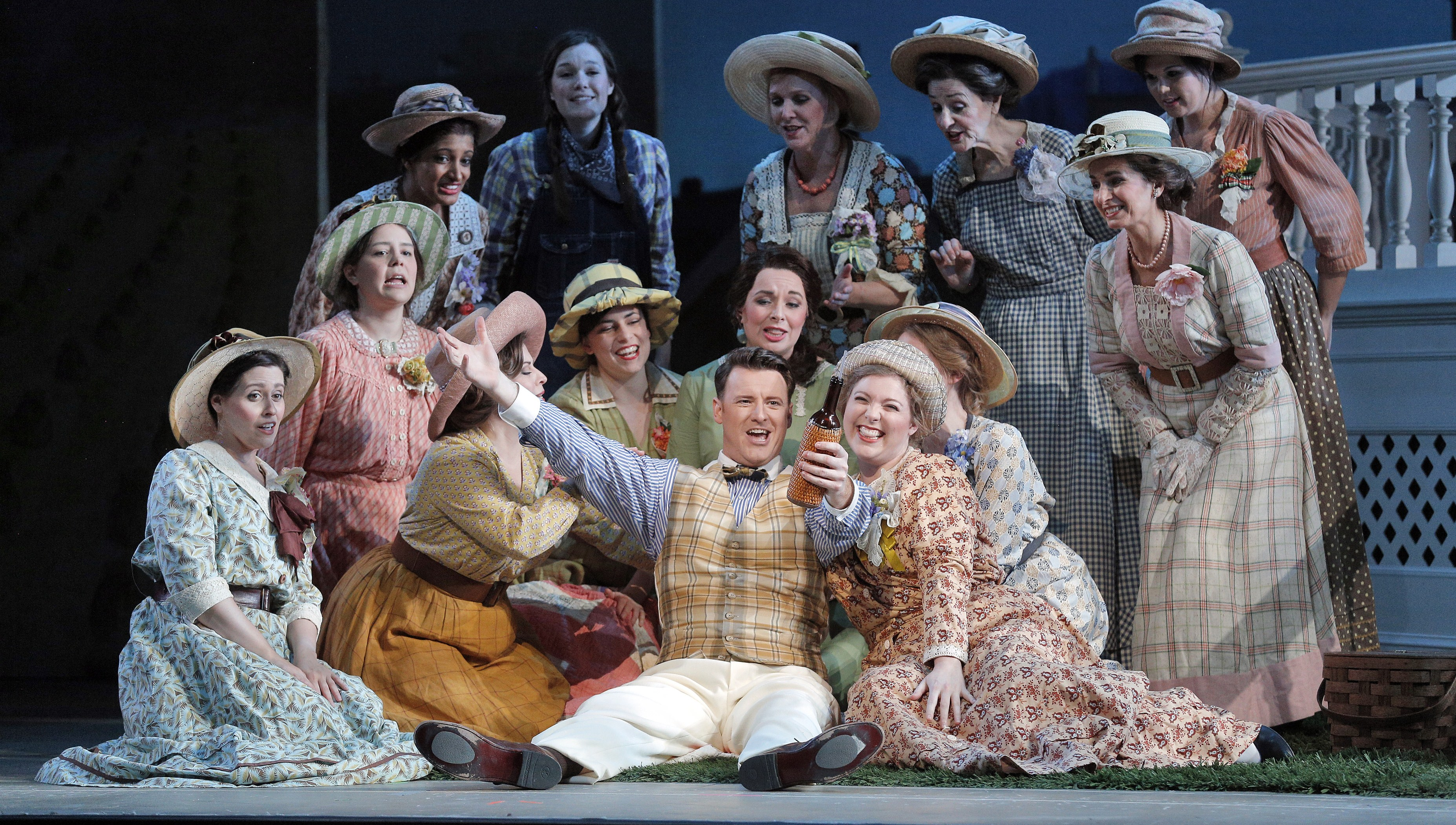 IN THE SERVICE OF MYTH: Donizetti favorite can't be taken too seriously