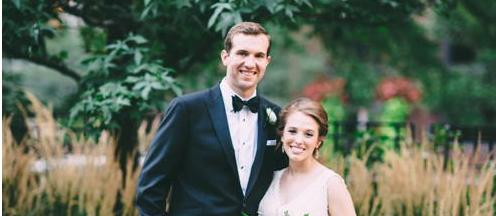 Congratulations, Mr. & Mrs. Logan!