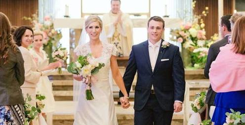 Congratulations, Mr. & Mrs. Mueller!
